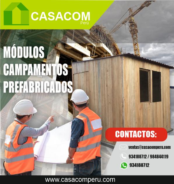 Casetas Oficinas Módulos Prefabricados En Lima Casacom Peru