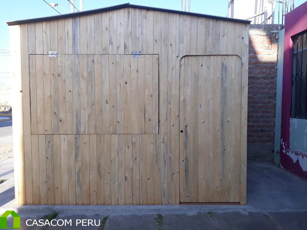 Kiosco Prefabricado De Madera Para Ventas Casacom Peru